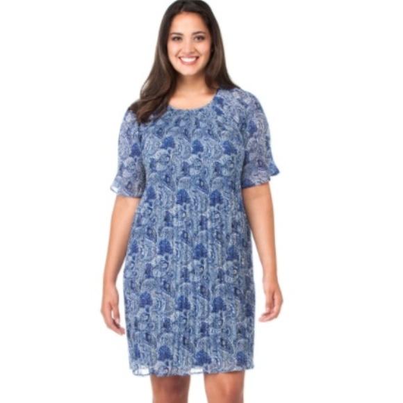 Michael Kors Dresses Plus Size Kinley Pleated Dress New Poshmark